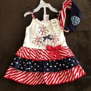 Other - Cute Baby Girl 4th of July Dress